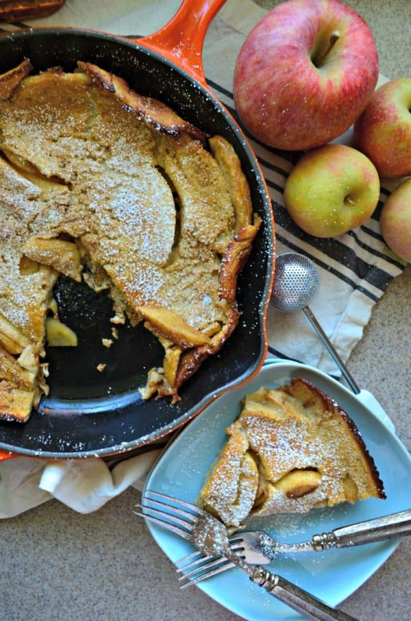 Apple Cinnamon Dutch Baby