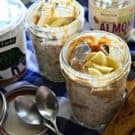 Banana Almond Butter Overnight Oats photo
