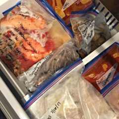 Preparing for Baby - Freezer Meal Prep 101