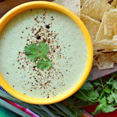 Cilantro Lime Yogurt Dip Recipe