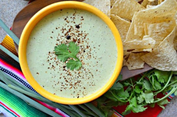 Cilantro Lime Yogurt Dip Recipe