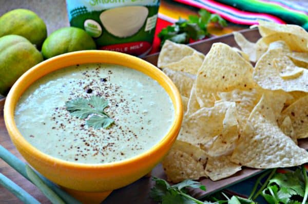 Mexican Cilantro Lime Yogurt Dip