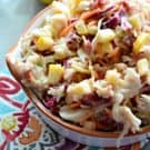 Apple Cranberry Coleslaw square
