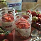 Strawberry Overnight Oats Squared