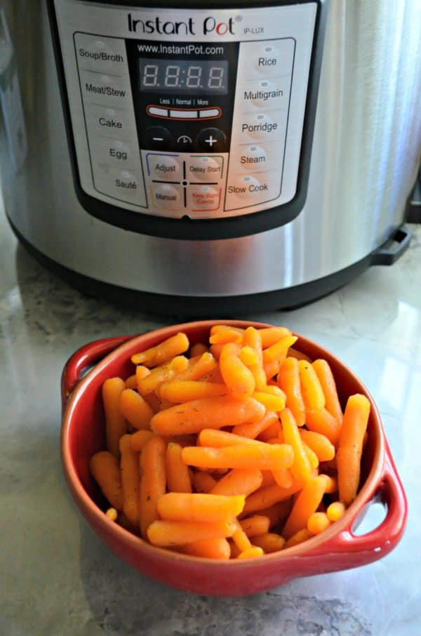 Instant Pot Honey Glazed Carrots