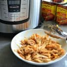 Instant Pot Mexican Shredded Chicken