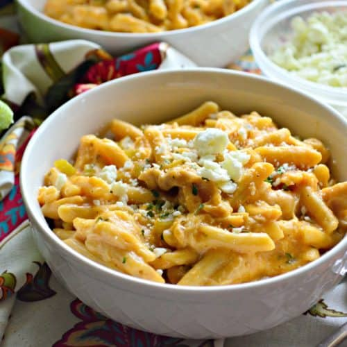 Creamy Buffalo Chicken Pasta #ReadyPasta