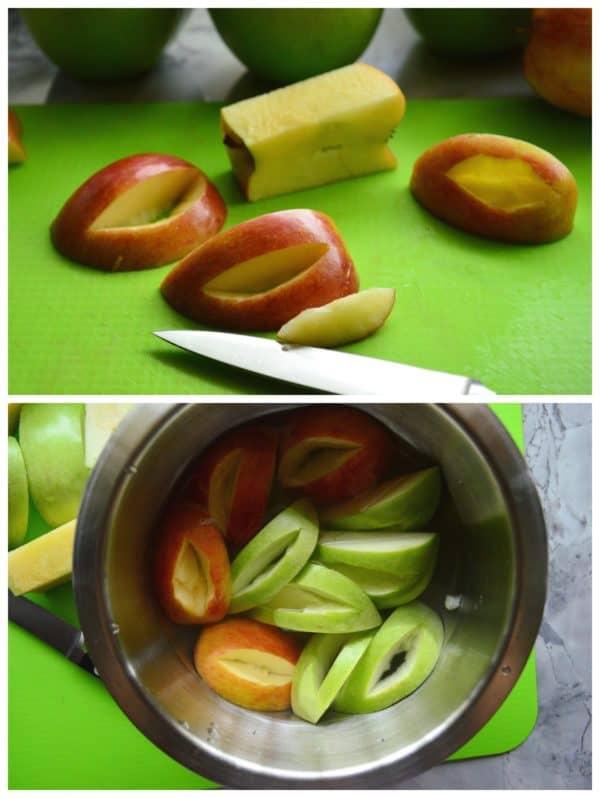 Monster Apple Slices