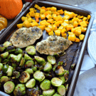Sheet Pan Honey Balsamic Autumn Chicken Dinner Square
