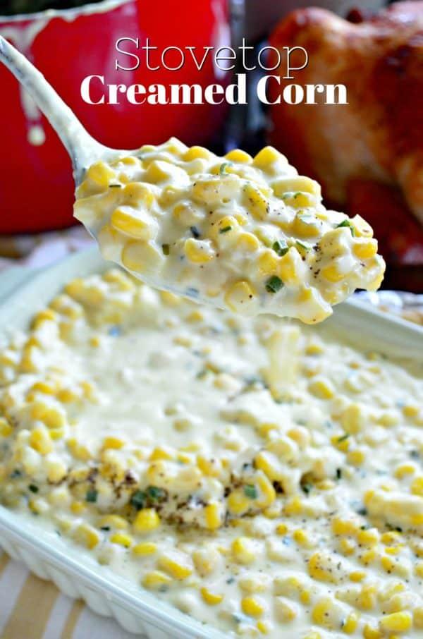 Stovetop Creamed Corn