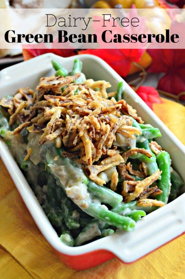 dairy free green bean casserole katie s cucina