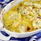Double Cream Scalloped Potatoes