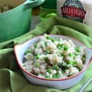 Baked Risotto with Green Peas