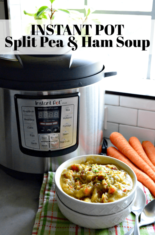 Instant Pot Split Pea & Ham Soup