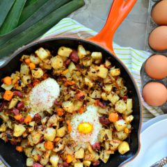 Corned Beef Hash & Egg Breakfast Skillet