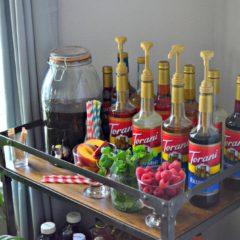 DIY Torani Iced Tea Bar