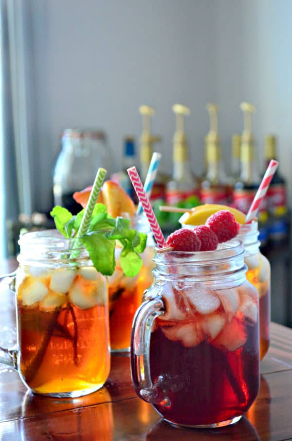Torani Raspberry Iced Tea
