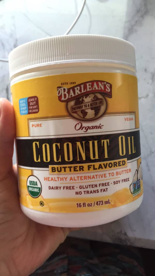 Barleans Butter Flavored Coconut Oil