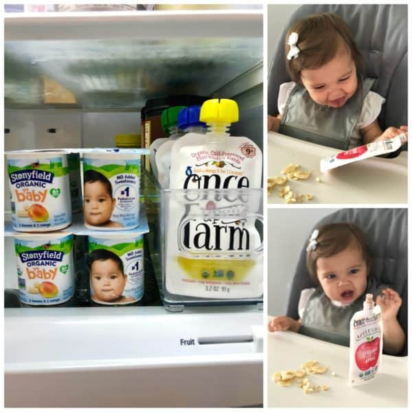 Stonyfield YoBaby & Once Upon A Farm
