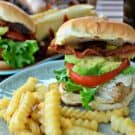 Grilled Chicken Cali Club Sandwiches