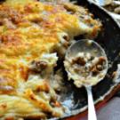Skillet Turkey-Bacon Shepherds Pie