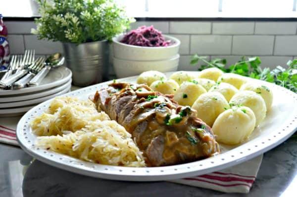 Polish Feast Pork Roast Dinner