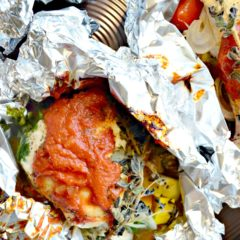 Chicken Cacciatore Foil Packets