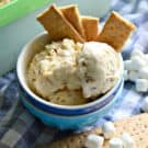 No-Churn Toasted Marshmallow Ice Cream Dessert Recipe