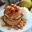 Apple Cinnamon Buttermilk Pancakes