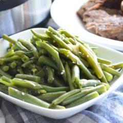 Instant Pot Garlic & Onion Green Beans