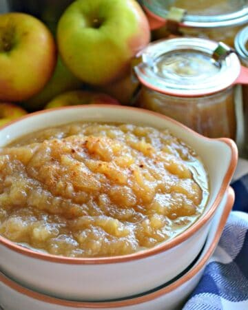 Instant Pot Easy Homemade Applesauce