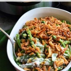 Instant Pot Homemade Green Bean Casserole