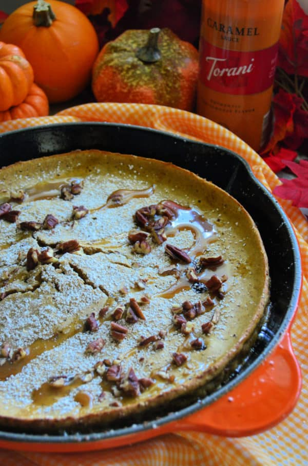 Pumpkin Spice Dutch Baby