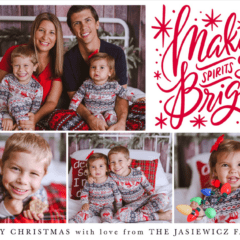 2018 Jasiewicz Family Christmas Card