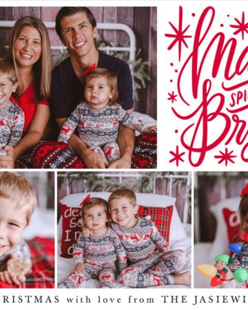 2018 Jasiewicz Family Christmas Card