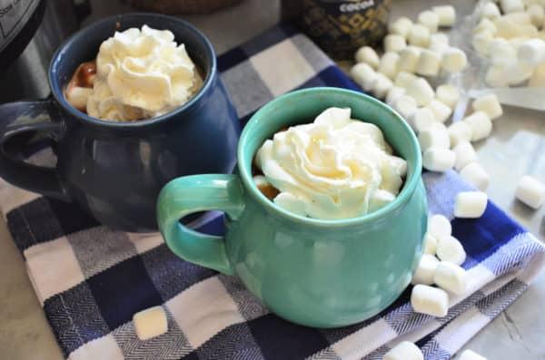 Instant Pot Hot Chocolate Entertaining Recipe
