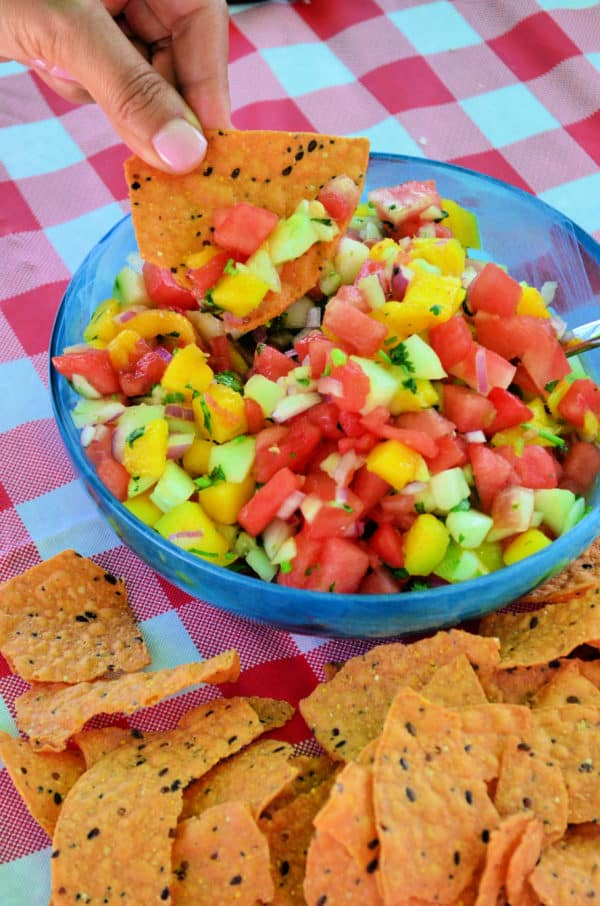 Watermelon Salsa Spicy Recipe