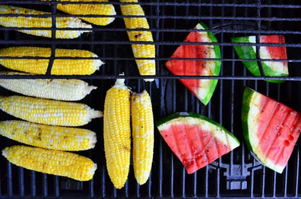 Fresh From Florida Grilled Watermelon & Corn