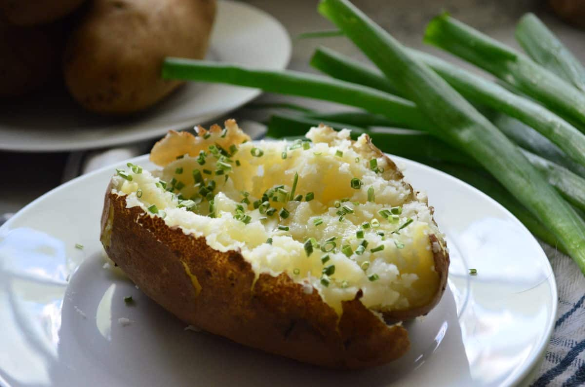 Instant Pot Baked Potatoes Easy Recipe