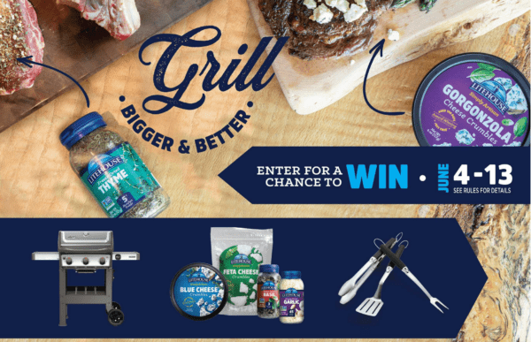 Litehouse Foods Grill Bigger & Better Sweetpstakes