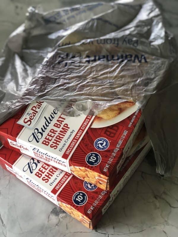SeaPak Budweiser® Beer Battered Shrimp at Walmart