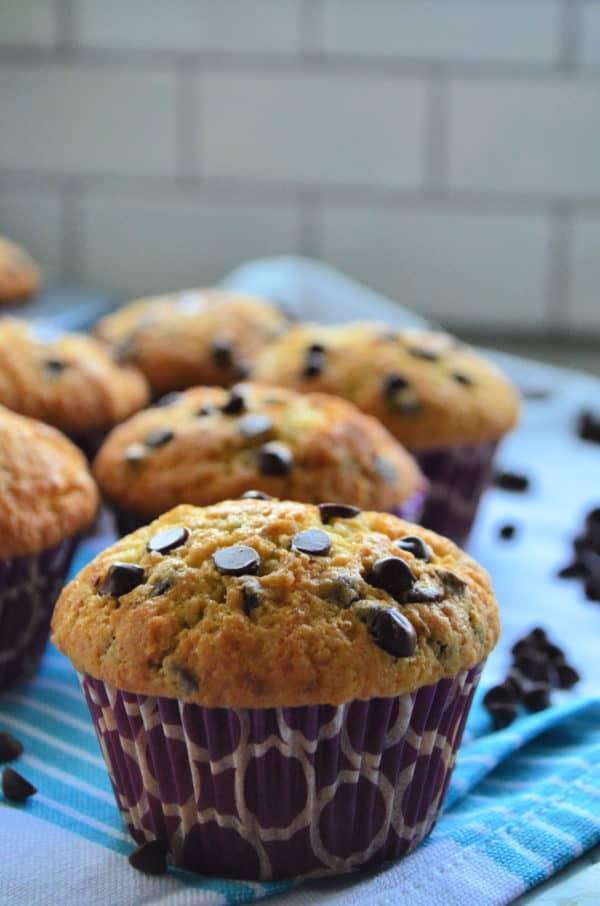 Chocolate Chip Muffins Breakfast Recipe