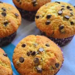 Chocolate Chip Muffins Easy Recipe