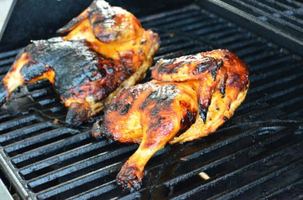 Grilled Sweet French Chicken