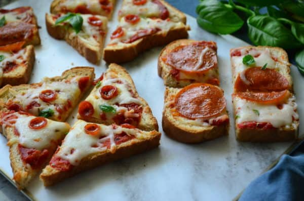 Pepperoni Pizza Toast Recipe