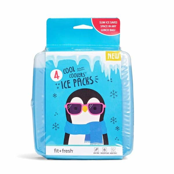 Fit & Fresh Cool Coolers Slim Ice Packs