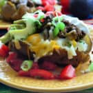 Stuffed Taco Baked Potato Dinner