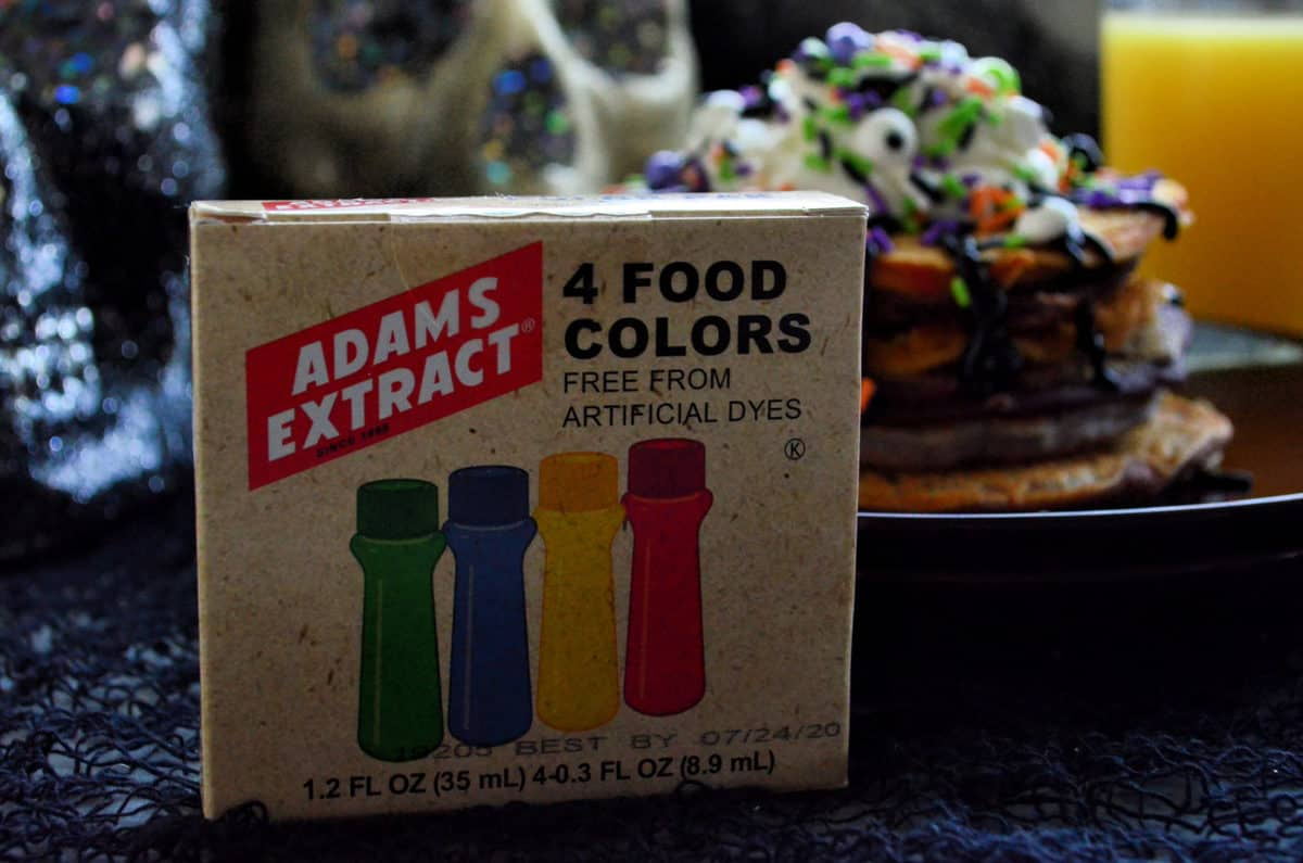 Adams Extract 4 Food Colors