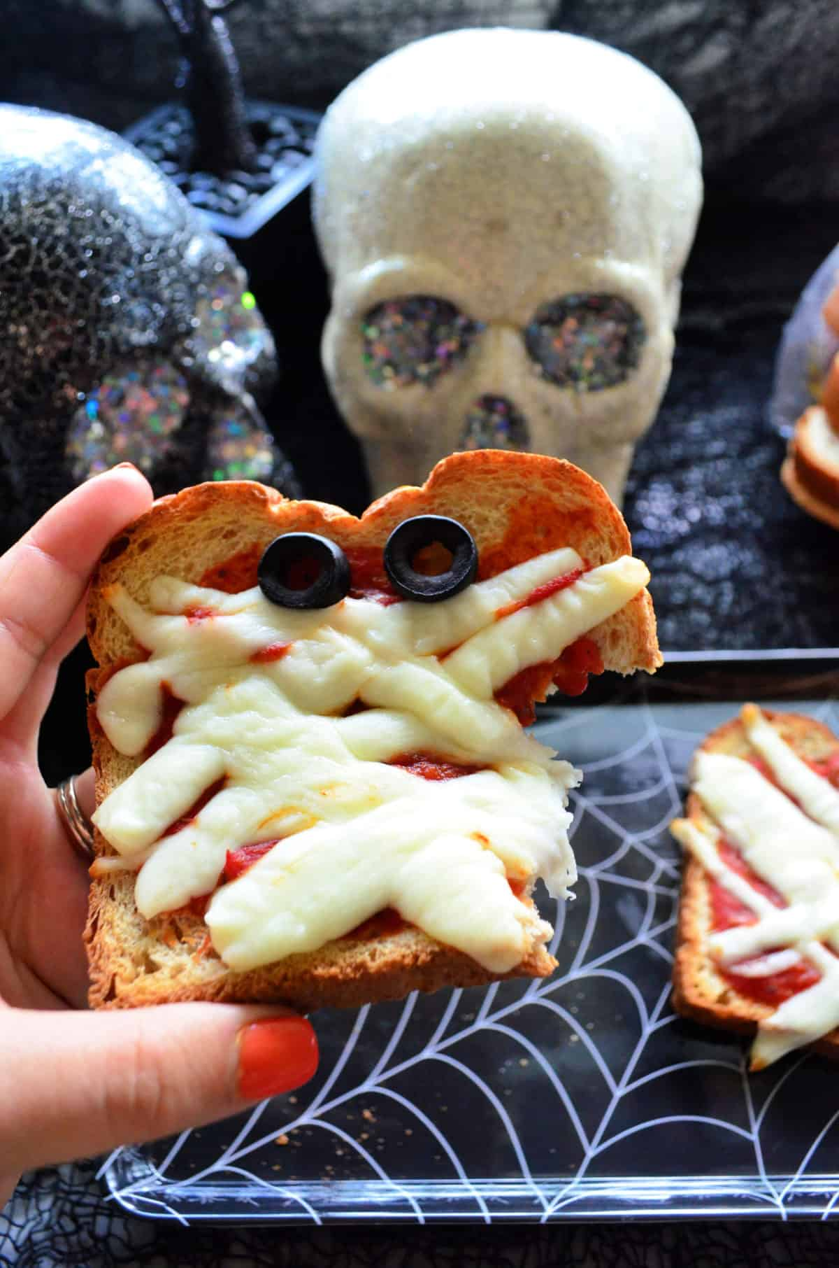 Mummy Pizza Toast
