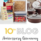 10th Blog Anniversary Giveaway $1,000 value!